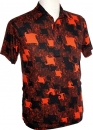 70er Jahre Polo shirt Paper orange, Chenaski