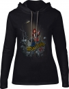 Lola Ladies Hoodie, Rock Dolls