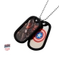 Preview: Captain America (doppeltes) Dog Tag