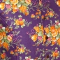 Preview: Chenaski Kurzarmhemd Flowers violet-orange