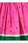 Preview: Jasmin Watermelon Swing Skirt, Rock Collectif, 60er