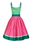 Mobile Preview: Jade Watermelon Swing Dress, Kleid Collectif, 50er