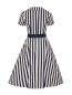 Mobile Preview: Brette Striped Swing Kleid