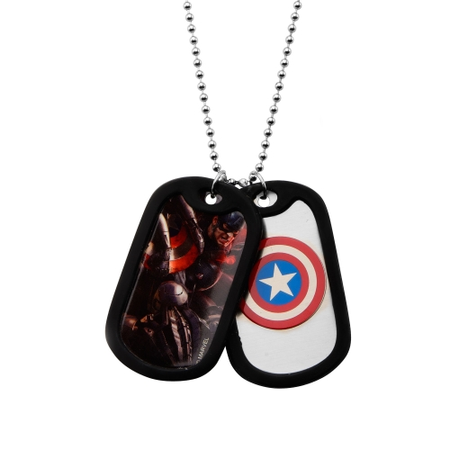 Captain America (doppeltes) Dog Tag