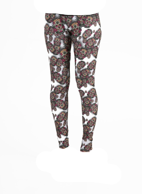 Cypress Hill Leggings AOP Sugar Skull