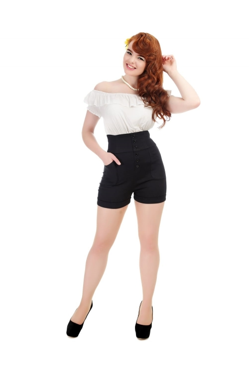Nomi Plain Shorts, Shorts Collectif, 50er