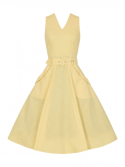 Mavis Plain Swing Dress
