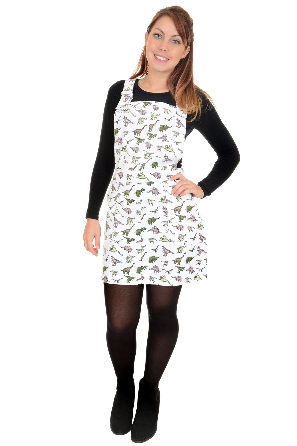 latest design wholesale sales latest COS Shop - Run & Fly Winter Ladies White Dinosaur Print ...