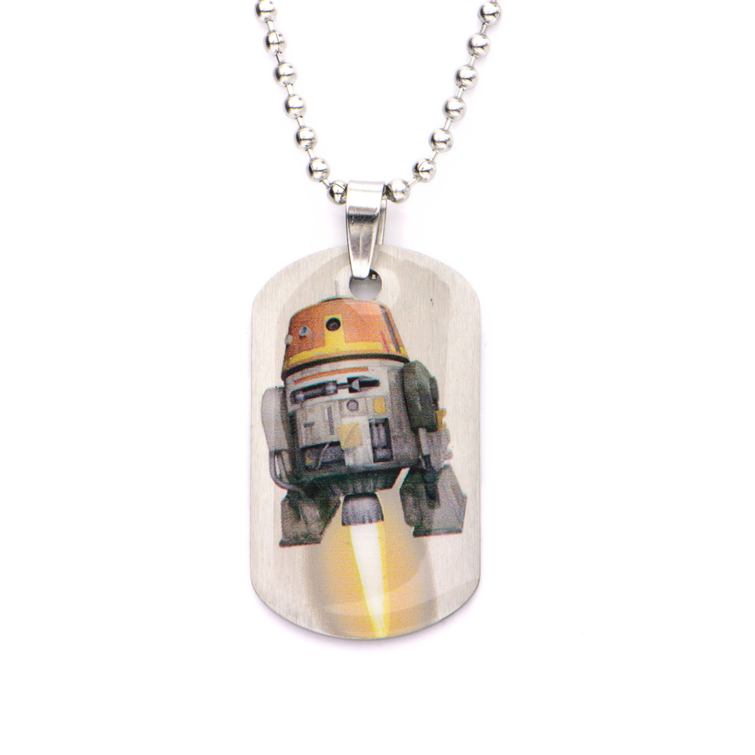 Cos Shop Edelstahl Star Wars Rebellen Chopper Kinder Dog Tag