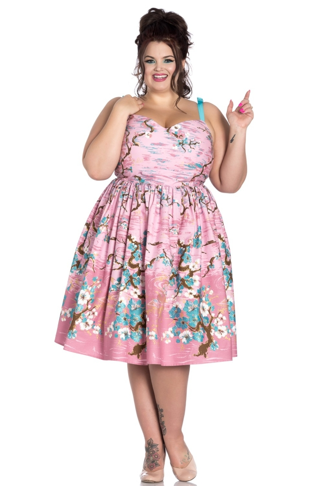 Jenna 50er Retro Kleid Plus Size