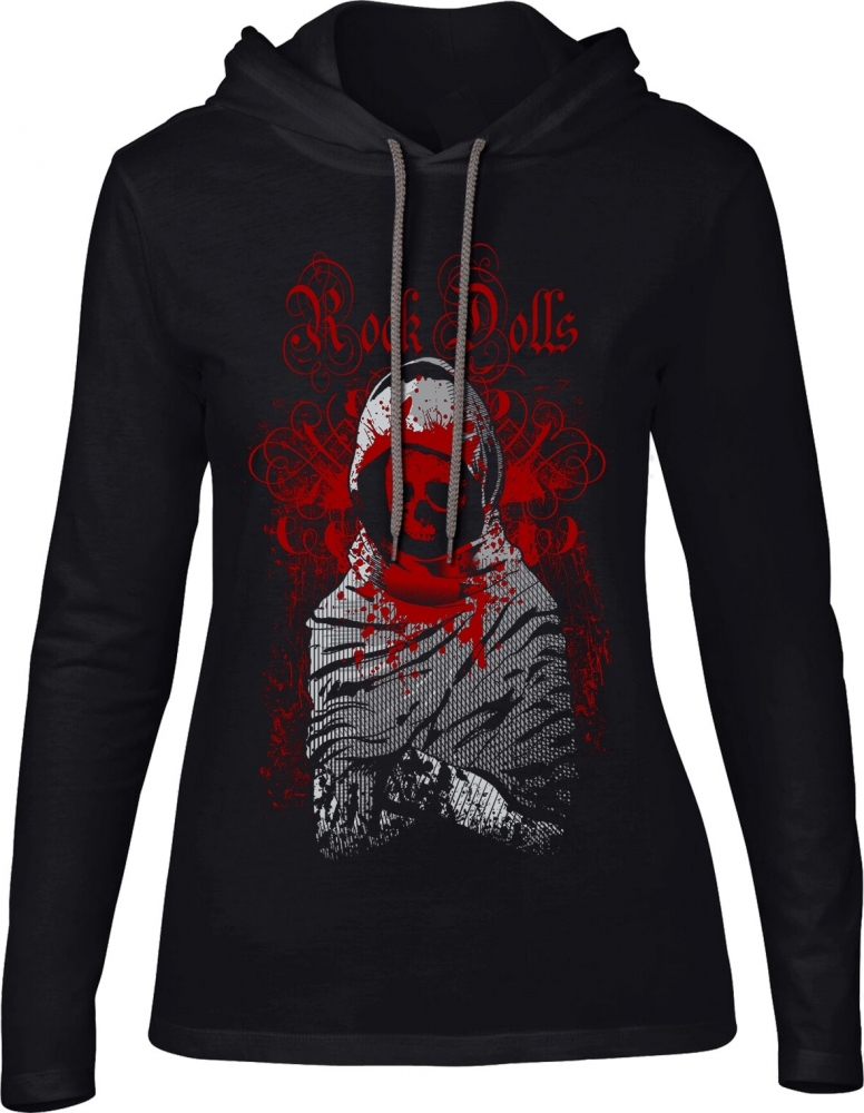 Ladies Hoodie Hooded Tears