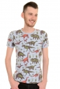 Run & Fly Retro Vintage Adventure Dinosaur Hipster T Shirt